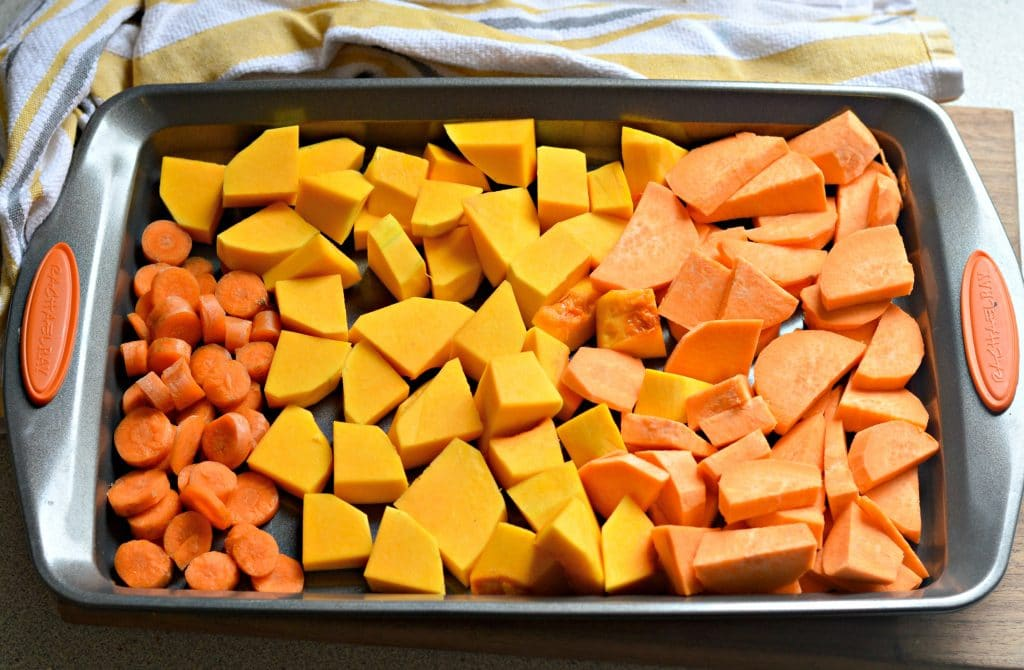 Butternut Squash, Sweet Potato, and Bacon Soup 4
