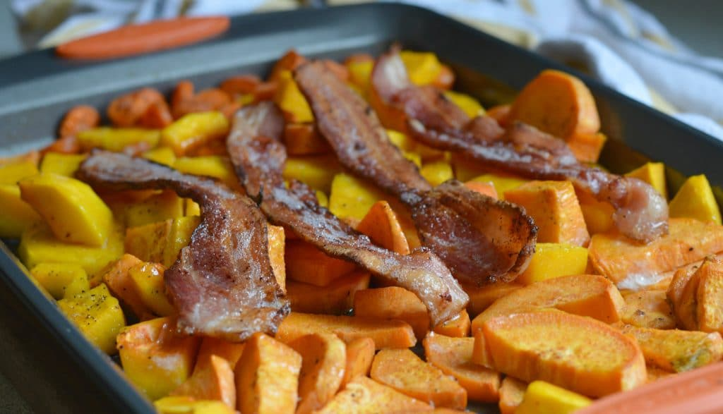 Butternut Squash, Sweet Potato, and Bacon Soup 6