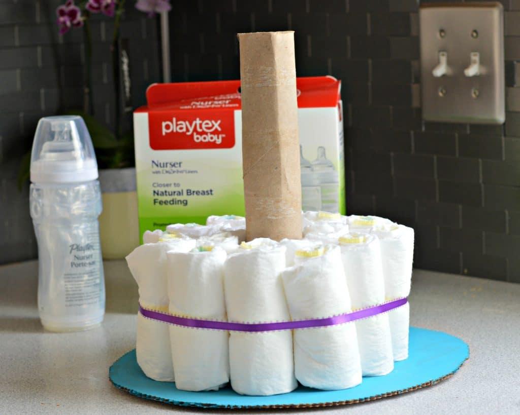 Diaper Cake Step 3