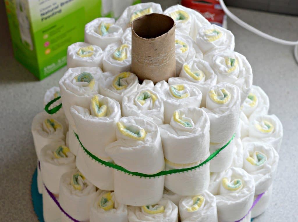 Diaper Cake Step 4