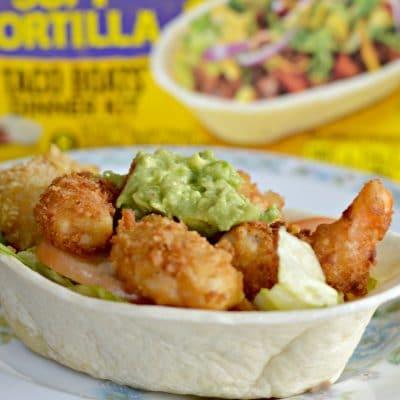 Extra Crispy Panko Fried Shrimp Tacos Bowls