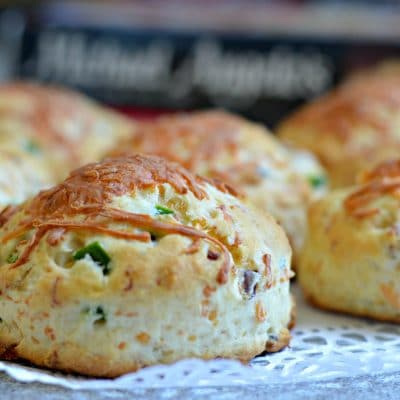 Cheddar, Bacon, and Jalapeno Biscuits