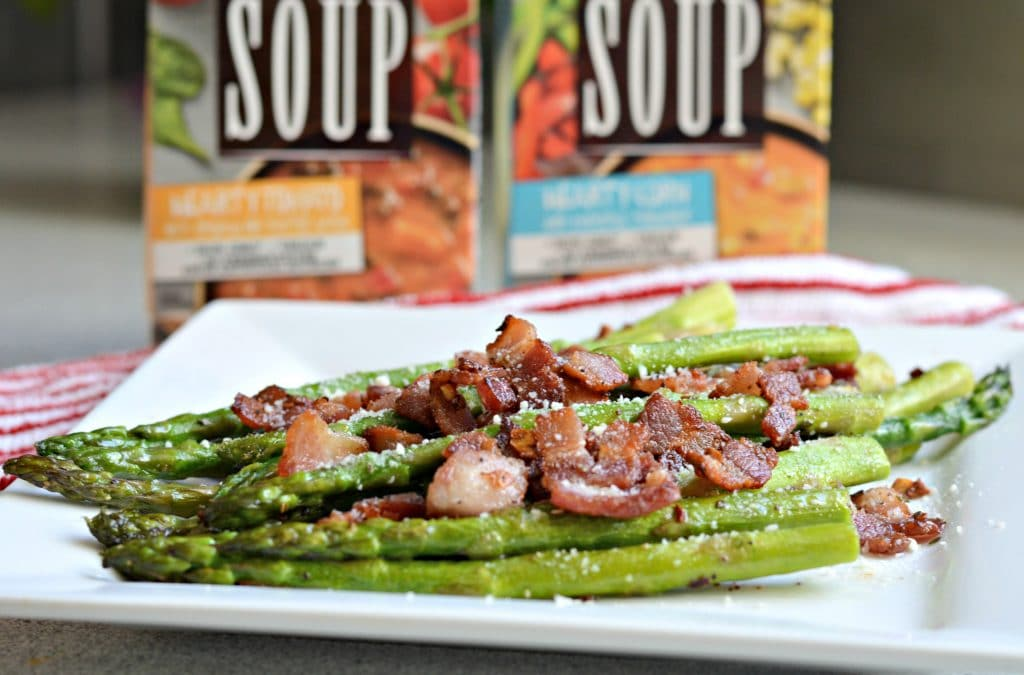 Good Natured Soup from Progresso - asparagus