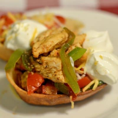 Mini Chicken Fajita Bowls