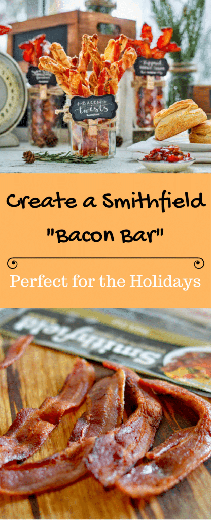 Have you ever heard of a bacon bar? If not, you need to read this to find out what it is and how it is perfect for the holidays.