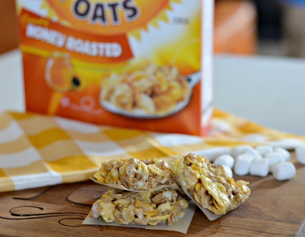 Honey Bunches of Oats Marshmallow Bars 2