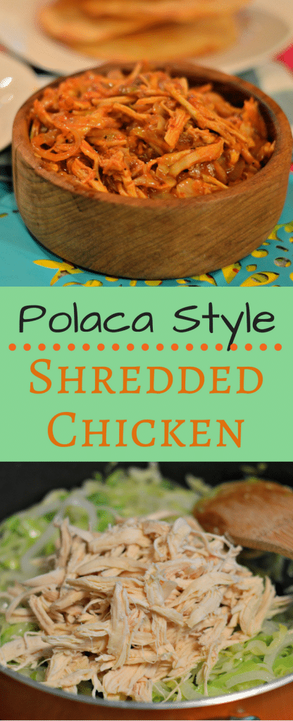 This Polaca Style Shredded Chicken is a traditional Mexican meal that is perfect for any celebration.