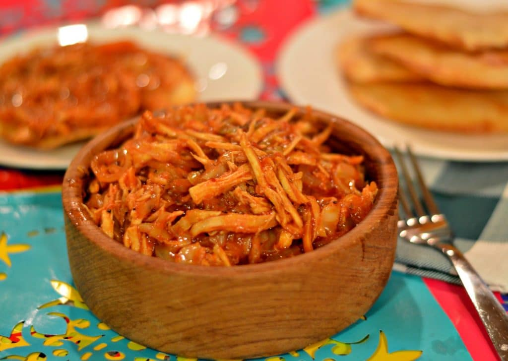 Polaca Style Shredded Chicken