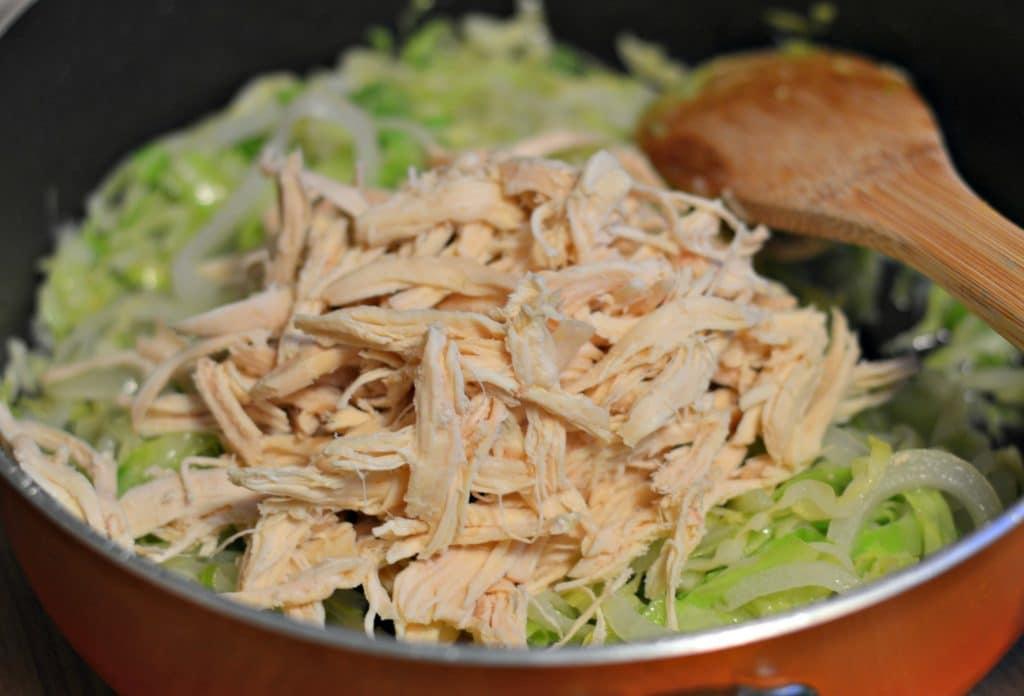 Polaca Style Shredded Chicken