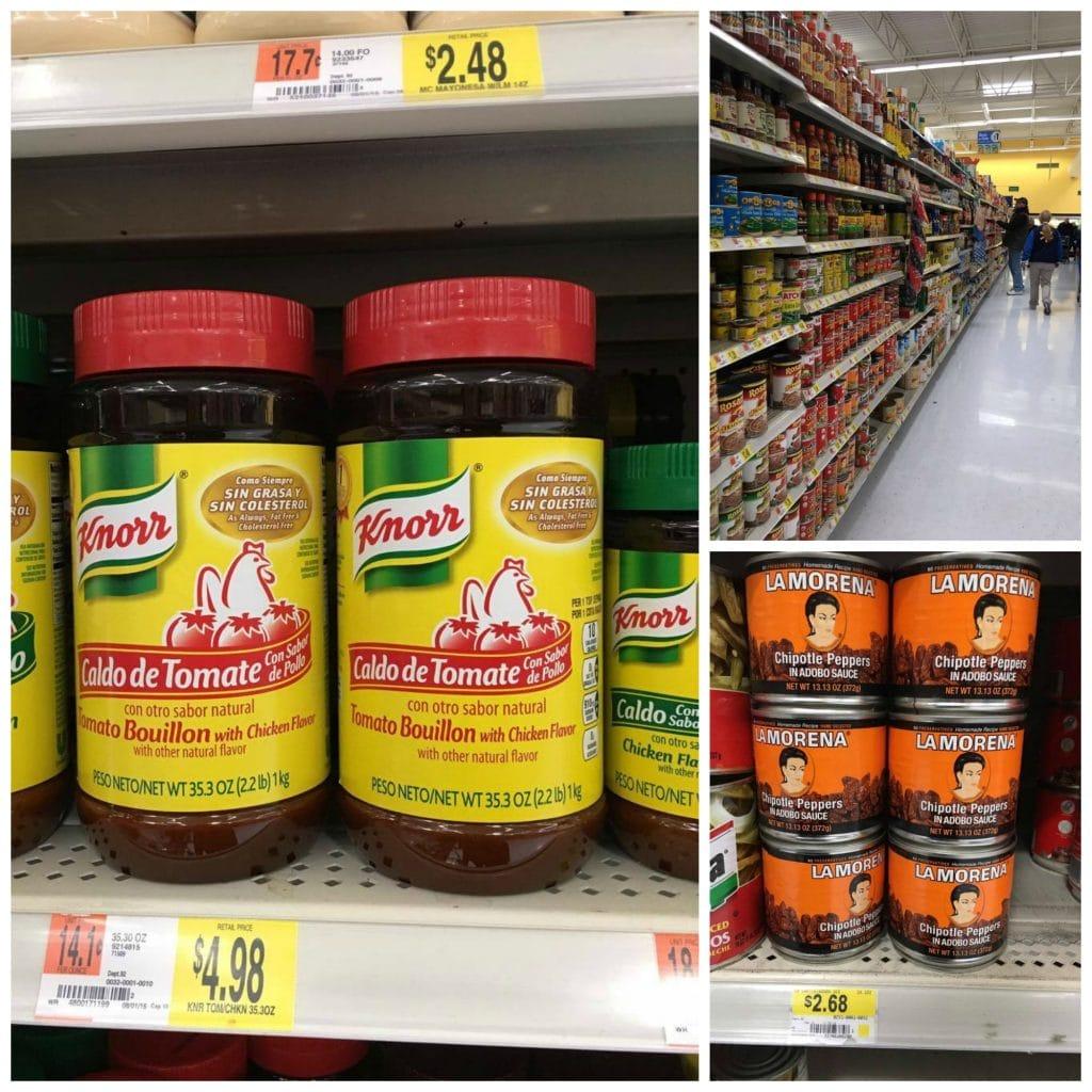 Hispanic Aisle Walmart