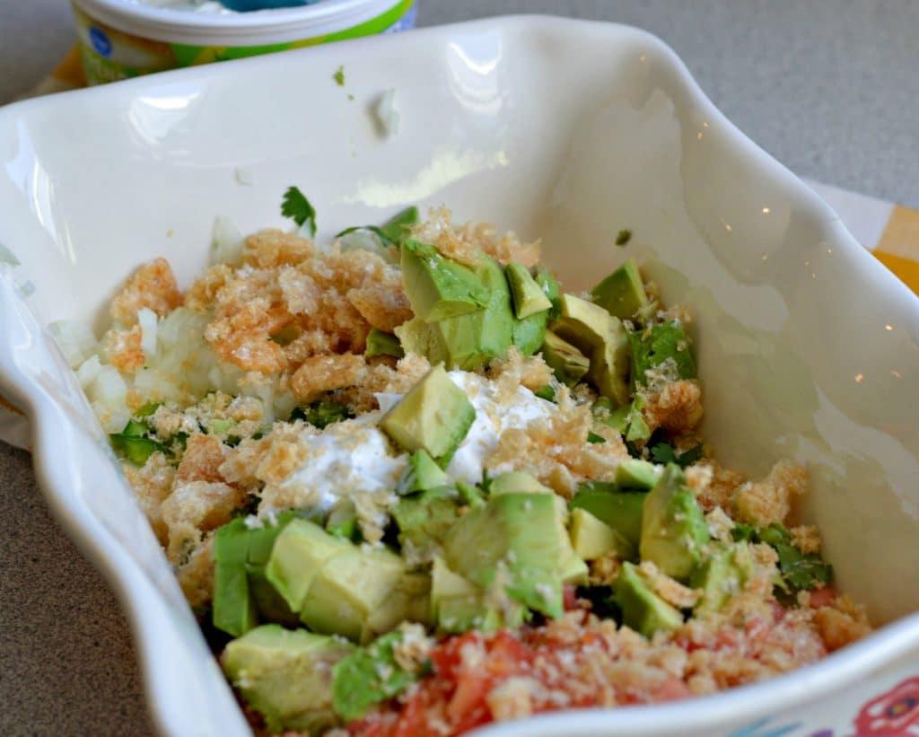Chicharron and Avocado Salad 4