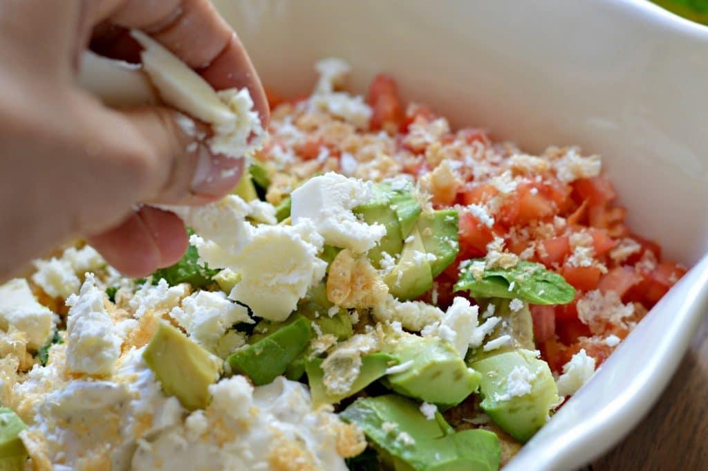 Chicharron and Avocado Salad 5