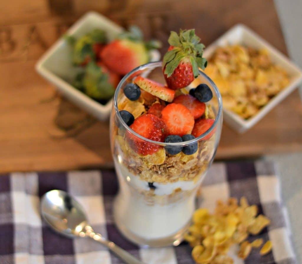 Easy Fruit and Yogurt Parfait 5