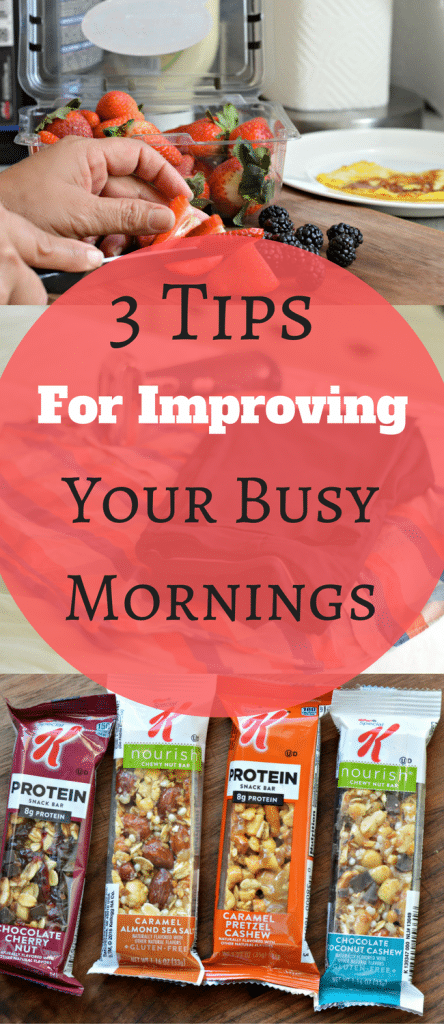 Check out these 3 tips for improving your busy morning.