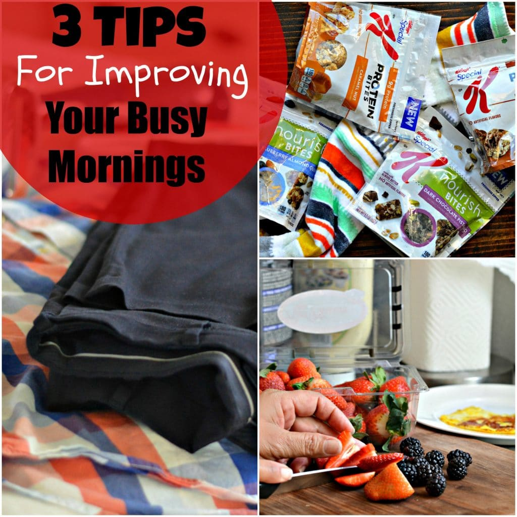 3 tips for improving your busy mornings