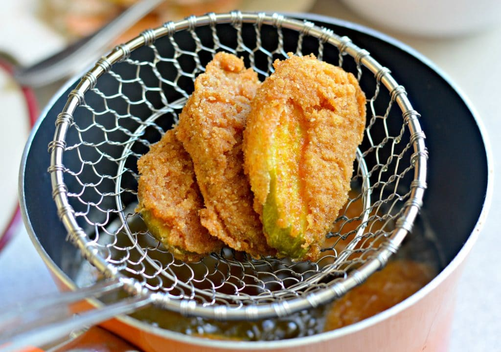 Extra Crispy Fried Pickles