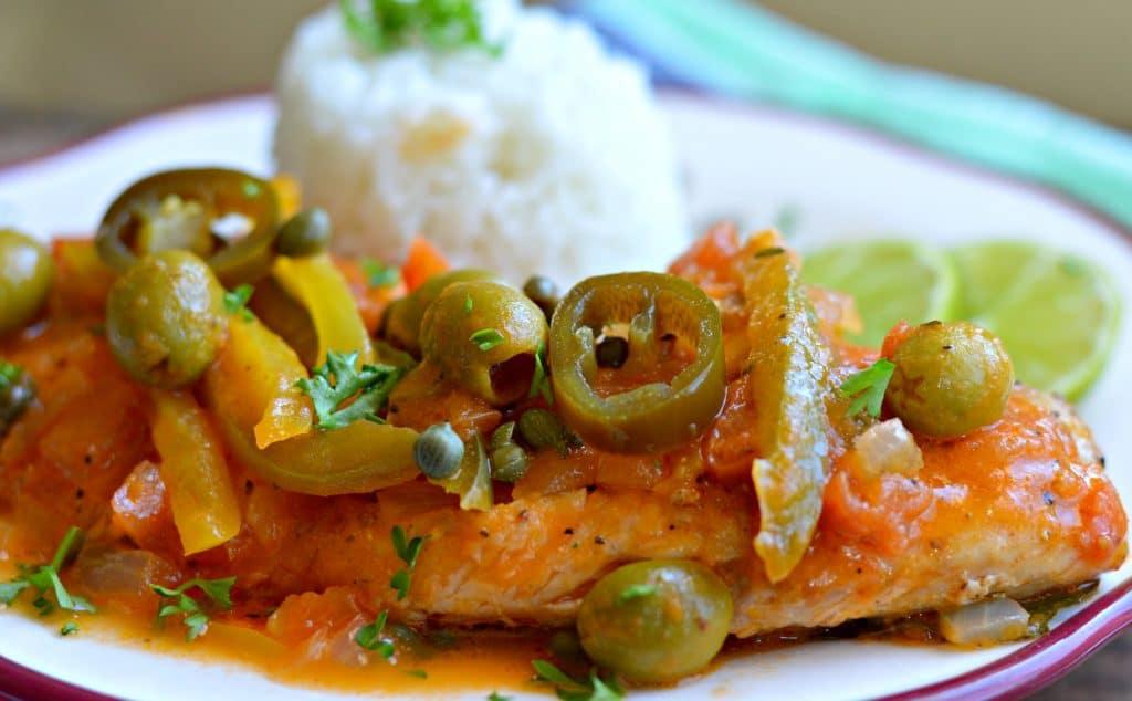 Veracruz Style Fried Tilapia