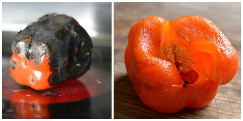 Roasted red pepper bisque bertolli