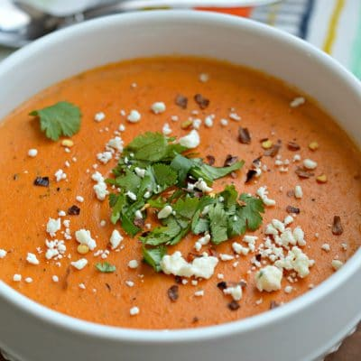 Homemade Roasted Red Pepper Bisque Recipe
