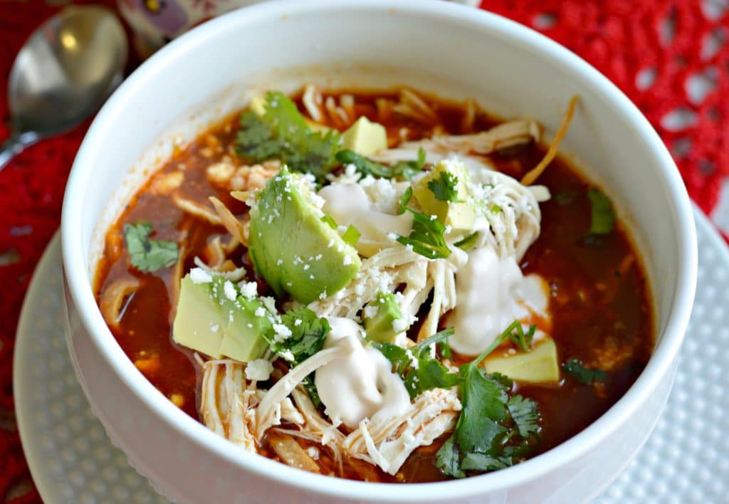 Authentic Mexican Chicken Tortilla Soup Recipe Easy