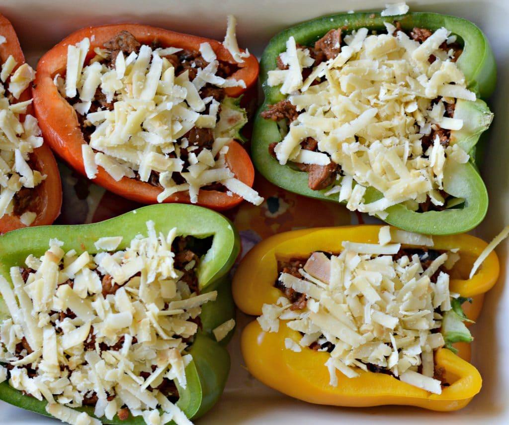 Vegetarian Stuffed Peppers Image 6